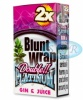 Blunt Wrap Double Platinum Coral