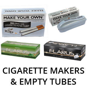 Cigarette Makers & Empty Tubes