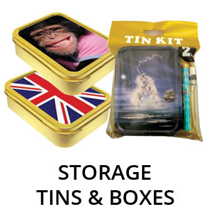 Storage, Tins & Boxes