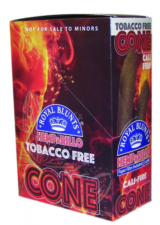 Royal Blunts Hemp Cones Cali-Fire - 2 Cones per Pack