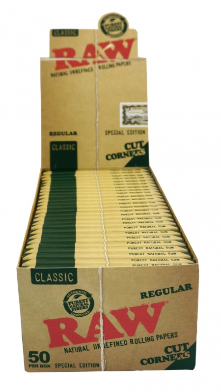 RAW Special Edition Classic Regular Cut Corners Rolling Papers