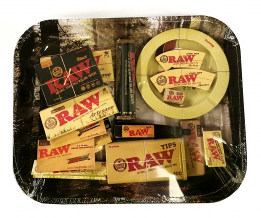 RAW Deluxe Christmas Tray Gift Set