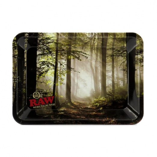 RAW Forest Mini Metal Rolling Tray