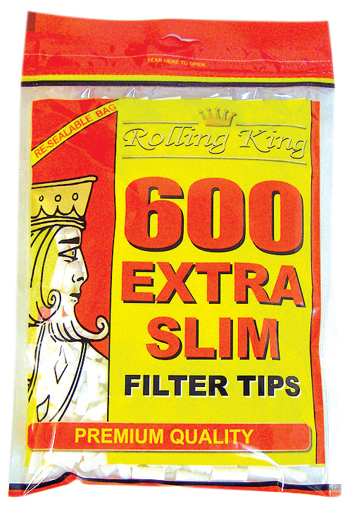 Rolling King Extra Slim Filter Tips