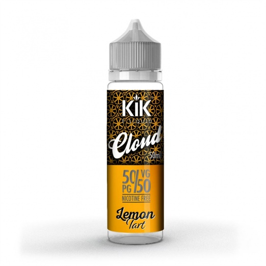 KIK Cloud Shortfill - Lemon Tart - E-liquid 60ml