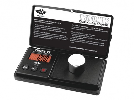 My Weigh Triton T2-120 Digital Scales with cover