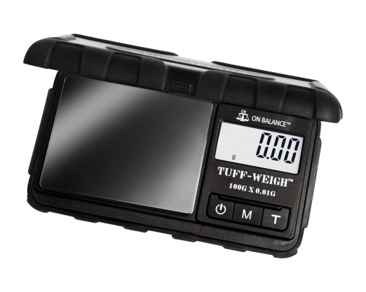 On Balance Tuff-Weigh TUFF-100 Digital Scales - Black