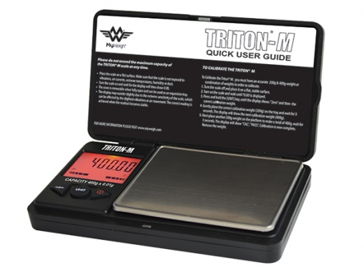 My Weigh Triton Mini - Mini Digital Scales with cover