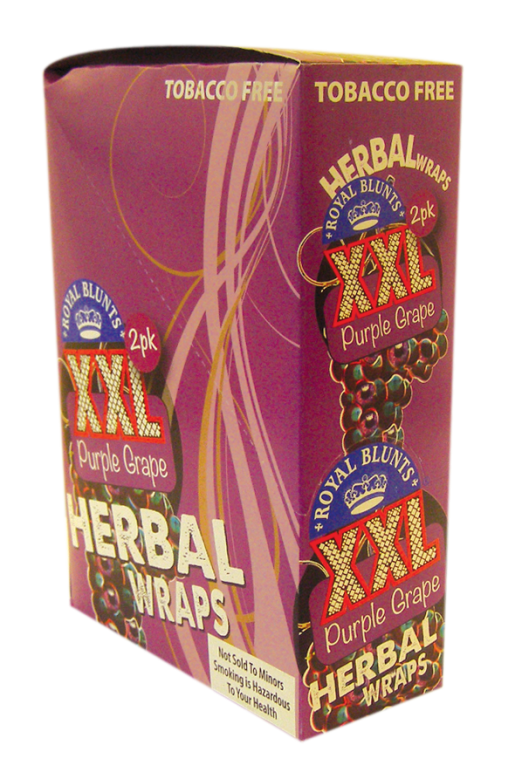 Royal Blunts XXL Wraps Purple Grape - 2 wraps per Pack