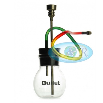 Bullet Mini 12cm Glass Waterpipe Bong
