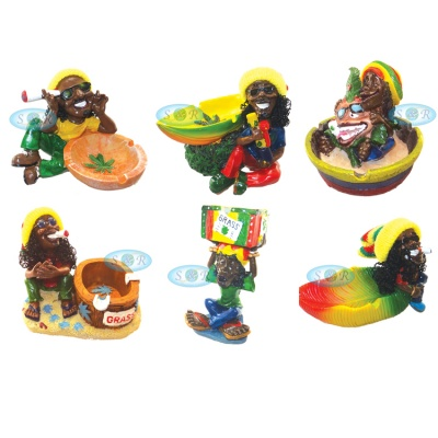 Rasta Figure Ashtrays