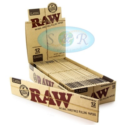 RAW Classic Supernatural 12 Inch Rolling Papers