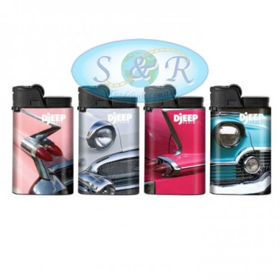 Djeep American Cars Design Disposable Lighters