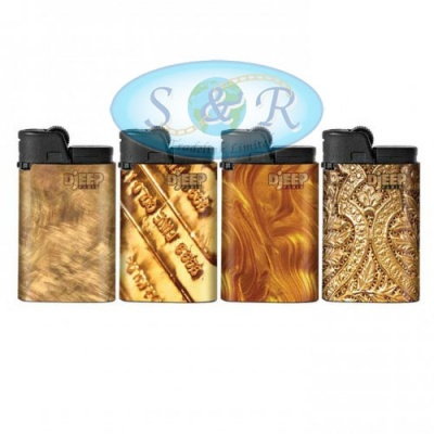 Djeep Gold Design Disposable Lighters