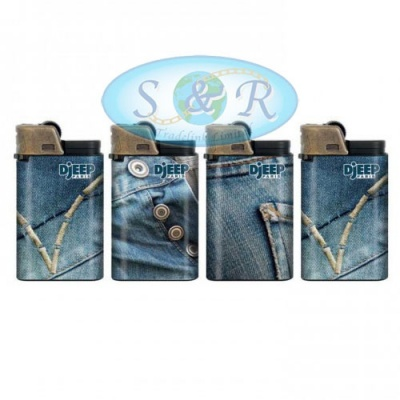 Djeep Jeans Design Disposable Lighters