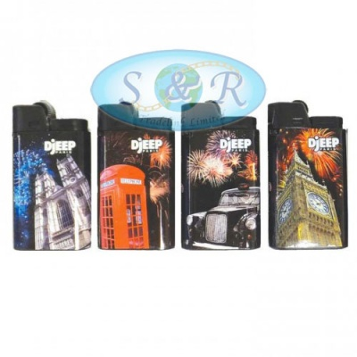 Djeep London Design Disposable Lighters