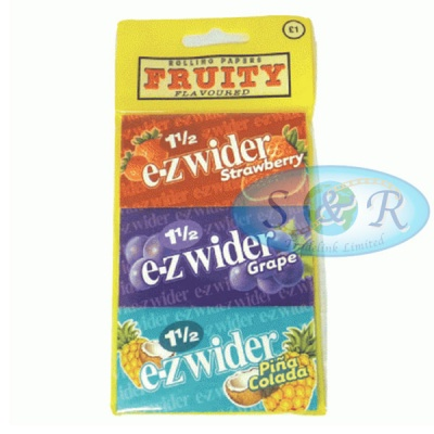 EZ-Wider Assorted 3 Pack 1½ Size Rolling Papers