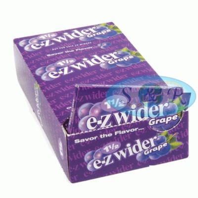 EZ-Wider Grape Flavoured 1½ Size Rolling Papers