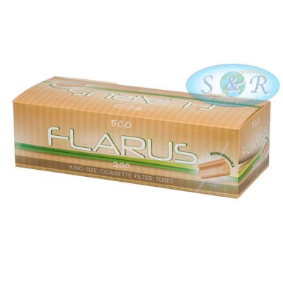 Flarus Eco Empty King Size Cigarette Filter Tubes