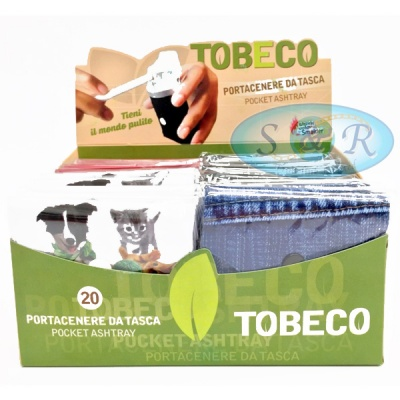 Smolder Tobeco Flexible Pocket Ashtrays