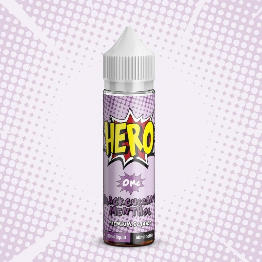 HERO Blackcurrant Menthol e-Liquid - 50ML
