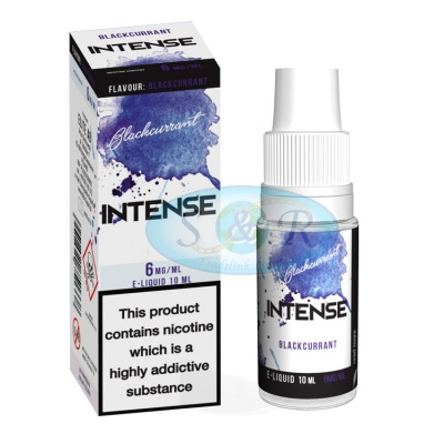 Intense eLiquid Blackcurrent 10ml Bottles 4 Strengths