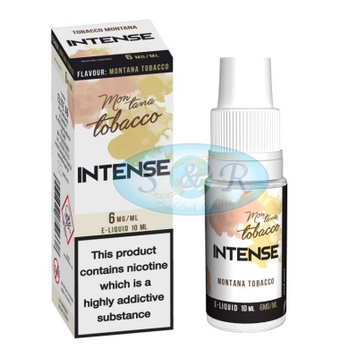 Intense eLiquid Montana Tobacco 10ml Bottles 4 Strengths