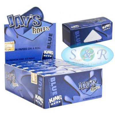 Jays Blue King Size 5m Unflavoured Rolls