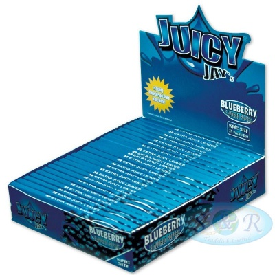 Juicy Jays Blueberry King Size Slim Flavoured Rolling Papers