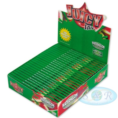Juicy Jays Watermelon King Size Slim Flavoured Rolling Papers