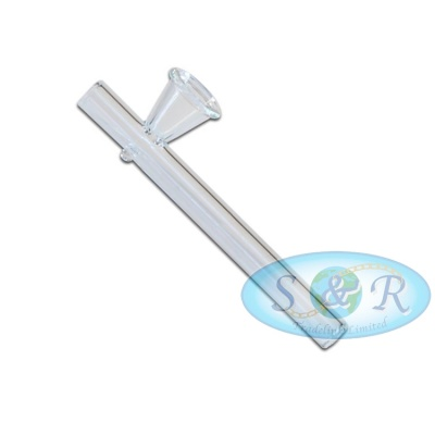 10cm x 7mm Mini Shotgun Glass Pipe