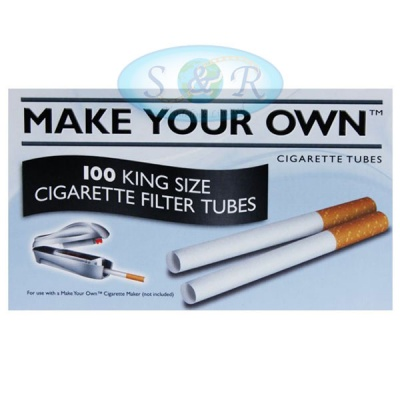 Make Your Own Cigarette Tubes