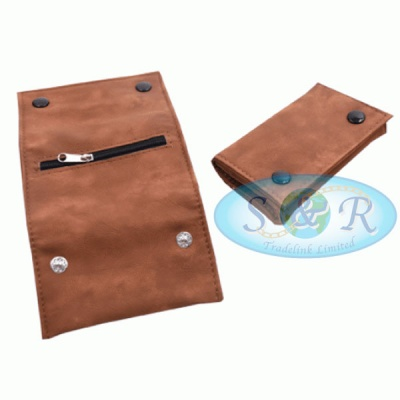 Brown Leather Tobacco Pouches