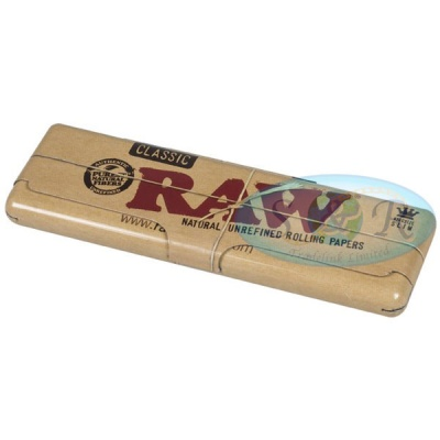 RAW Classic King Size Slim Papers Holder Case Tin