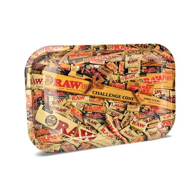 RAW Mix Small Metal Rolling Tray