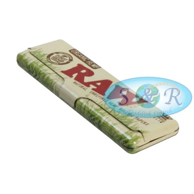 RAW Organic King Size Slim Papers Holder Case Tin
