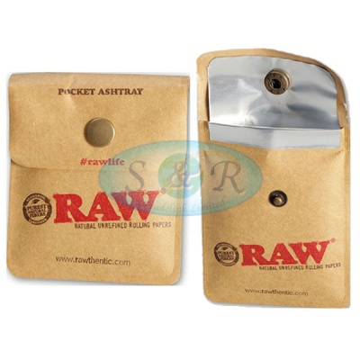 RAW Pocket Ashtray - Box of 10