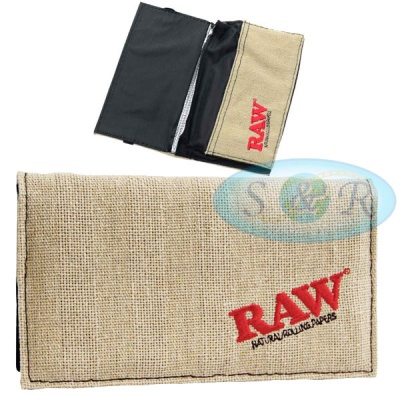 RAW Smokers Wallet Rolling Paper Pouch King Size Version