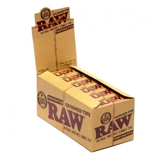 RAW Perforated Gummed Tips (24)