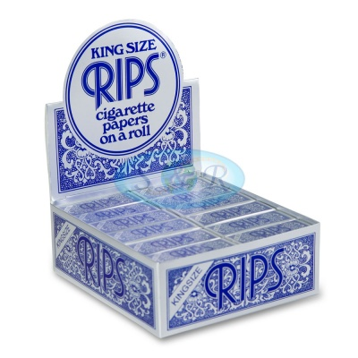 Rips Blue King Size 5m Rolls