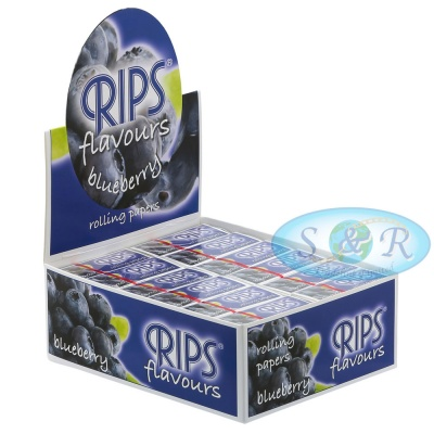 Rips Blueberry Flavoured 4m Slim Rolls