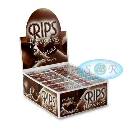 Rips Chocolate Flavoured 4m Slim Rolls