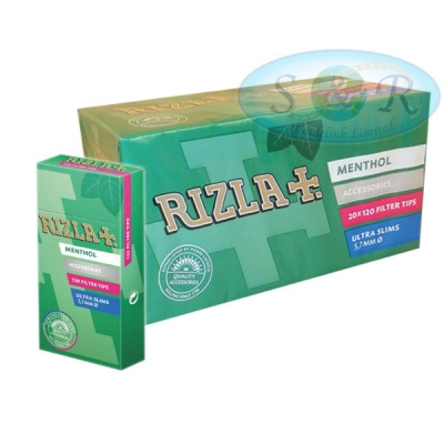 Rizla Menthol Ultra Slim Filter Tips