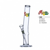 33cm Rasta Line Glass Waterpipe Bong