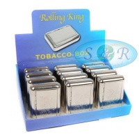 Rolling King Tobacco Box Welsh Design