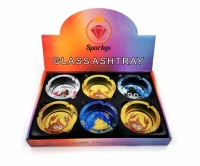 Poop Design Glass Ashtrays