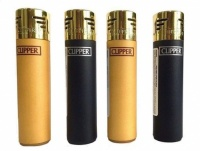 Clipper Electronic Gold Top Lighters - 40's