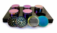 Rainbow 4 Part 50mm Metal Grinder