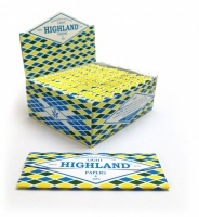 Highland Light Thin King Size Rolling Papers & Tips