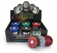 3-Part 4cm Amsterdam Grinders Various Colours